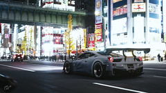 458 LB☆WORKS (m i n i t e k) Tags: ferrari 458 italia lb works liberty walk wide body racecar tokyo gran turismo sport