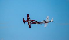 SNOWBIRDS (TheGhostVaporVision) Tags: jet plane stunt acrobatic elite team snowbirds canada pilots supersonic formation amazing airshow red