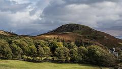 Distant Hills - Skye Sept 2018 (GOR44Photographic@Gmail.com) Tags: sleat peninsula skye scotland highlands island trees gor44 green grass hills mountains rocks cloud sunlight shadows coast olympus omdem5 1240mmf28 houses