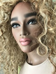 Display Mannequin (capricornus61) Tags: display mannequin shop window doll dummy dummies figur puppe schaufenster frau woman weiblich female feminine art face hair wig lips home indoor sammeln collecting