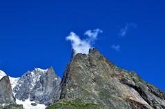 Like a Volcano (marco.falaschiii) Tags: blu mountain cloud neve montagna valle aosta alpi monte bianco