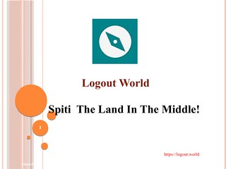 Spiti The Land In The Middle Logout World