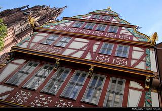 Haus zur Goldenen Waage & Kaiserdom St. Bartholomäus, Frankfurt, Germany