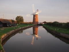 The Windpump (Farmer Barns) Tags: norfolk england uk september 2018 horsey wind nationaltrust nt water evening sails windmill