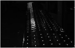 Please, sit (frankdorgathen) Tags: ruhrpott ruhrgebiet rüttenscheid essen alpha6000 sony sony35mm monochrome blackandwhite schwarzweiss schwarzweis textur texture dark bank bench bushaltestelle busstop nachtaufnahme nightshot night