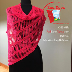 shawl1 (Lindenhouse/Linda Martin) Tags: reddooryarns knit lace knitting yarn cashmere merino nylon handpainted indiedyed