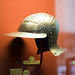 Armour helmet with bill