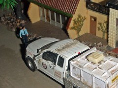 Sheriff's log 9/19/2018 (THE RANGE PRODUCTIONS) Tags: ford fordf150 greenlight 164scale dioramas diecast diecastdioramas toy model hoscalefigures