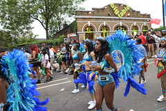 DSC_8164 (photographer695) Tags: notting hill caribbean carnival london exotic colourful costume girls dancing showgirl performers aug 27 2018 stunning ladies