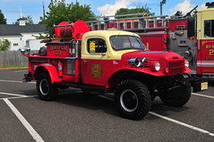 Lawrenceville Fire Company Brush 23 (Triborough) Tags: nj newjersey mercercounty hopewell lfc lawrencevillefirecompany firetruck fireengine engine pumper brushtruck brush brush23 dodge powerwagon