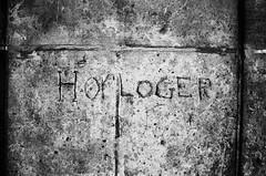Roger Hol (Jean-Luc Léopoldi) Tags: pierres mur inscription graffiti gravé profession corporation vieilleville