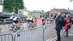 Cresting the rise on Margery Lane (Steelywwfc) Tags: ovo energy tour series durham madison genesis canyon eisberg holdsworth pro racing wheelbase castelli vitus cycling jlt condor morvelo basso wiggins one spokes team ribble phmas paul milnes cycles