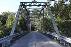Knightly Bridge - Augusta County, VA (Aaron F. Stone) Tags: knightlybridge knightly bridge truss throughtruss through championbridgecompany championbridgeco champion company augustacounty augusta county staunton waynesboro relic road river middle middleriver