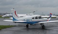 Piper PA-28-151 Cherokee Warrior: 28-7715220 G-BXLY Newcastle Airport (emdjt42) Tags: pa28 cherokee gbxly newcastleairport
