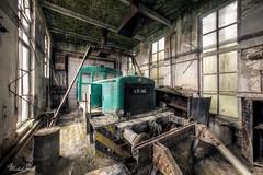 Eternal rest (Michal Seidl) Tags: abandoned locomotive trail railroad factory infiltration industry mav hdr urbex decay opuštěná lokomotiva depot powerplant elektrárna továrna hungary