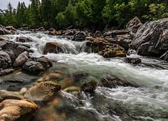 Saint-Anne Waterfall (Paul Berkloo) Tags: montalbert quebec canada ca water waterfall waterfalls watercourse river flow stream rock rocks tree creek forest