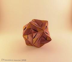 Blades 12 (mancinerie) Tags: origami modularorigami paperfolding papiroflexia papierfalten mancinerie francescomancini octahedron