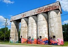 Freeport, Illinois Silos (Cragin Spring) Tags: illinois il midwest unitedstates usa unitedstatesofamerica silo graffiti freeport freeportil freeportillinois