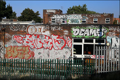Various... (Alex Ellison) Tags: southlondon urban graffiti graff boobs oil smc ensa ghz fusy nts sope jpt deams ps jobs