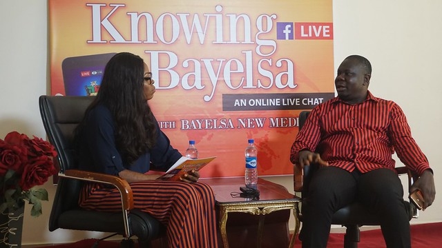 HSDickson - Commissioner for Environment At the on-going knowing Bayelsa Program 13th August 2018