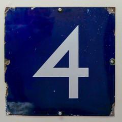 number 4 (Leo Reynolds) Tags: xleol30x number onedigit xsquarex panasonic lumix fz2000 xx2018xx 4 four