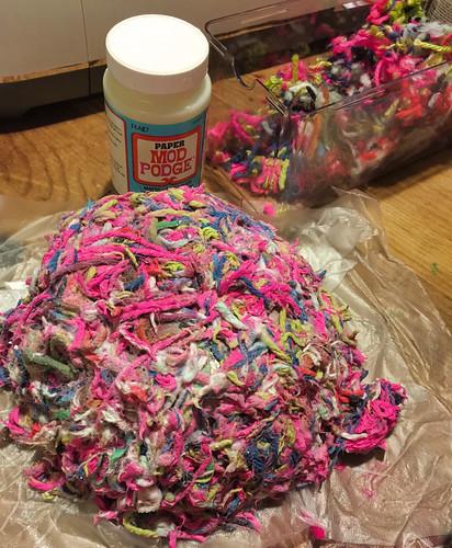 drying - yarn bowl