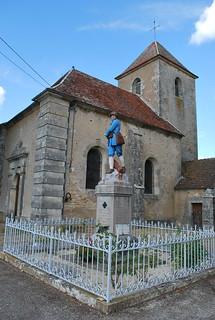 Vassy-sous-Pisy (89) : église Saint-Martin