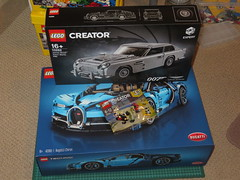 What I got on my 28th Birthday!! (RS 1990) Tags: lego sets 28thbirthday gifts 10262 42083 bugatti astonmartin september 4th 2018 tuesday 30542