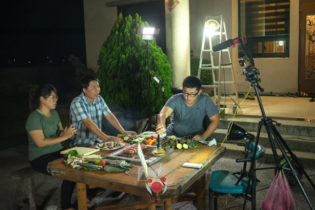 最奢華的中秋烤肉組 海鮮大集合之 龍膽石斑、泰國蝦、蚵、大卷 |小農聯盟17