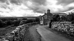 Middleton in Teesdale . (wayman2011) Tags: canon5dlightroom5 colinhart wayman2011 bwlandscapes mono rural villages lanes pennines dales teesdale middletoninteesdale countydurham uk