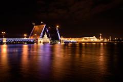 Saint-Pétersbourg - Lifting bridges (Michaël83) Tags: saintpétersbourg ville town russie russia россия rossia дворцо́выймост dvortsoviymost nikon d750 tamronsp2470mmf28divcusd санктпетербу́рг