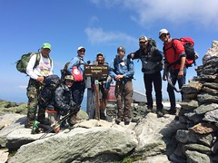 2015_RTR_Presidential Traverse Wilderness Retreat 29 (TAPSOrg) Tags: taps tragedyassistanceprogramforsurvivors tapsretreat retreat mensretreat wilderness presidentialtraverse newhampshire 2015 military outdoor horizontal group males hiking posed landscape mountains