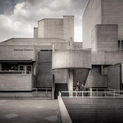 NT (Dan Portch) Tags: national theatre nt london building architecture buildings concrete brutal brutalism street city urban geometry shapes jigsaw