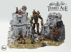 Isengard - Main (cypiratemocs) Tags: lego moc tolkien lotr lord rings isengard ent treebeard cypirate third age collab