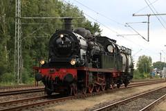 Eisenbahntradition 78 468 te Papenburg. (vos.nathan) Tags: v160 002 mietlok pruisische t18 westfalendampf deutsche bundesbahn br 78 baureihe 468 eisenbahntradition lengerich papenburg