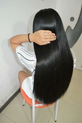 https://haircutn.blogspot.com (韩老板收购长头发) Tags: longhair haircut hairshow hairplay braid ponytail hairbun longhair4sale