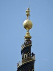 Circular Climb (jchants) Tags: copenhagen denmark church spire tower circular golden