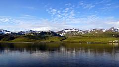 Grundarfjörður (Stefan Jürgensen) Tags: snæfellsnes grundarfjörður sky bluesky mountains snow water reflection iceland coastline sony a77m2 a77