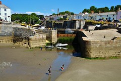 The Harbour in Charlestown (Eddie Crutchley) Tags: europe england cornwall charlestown harbour outdoor simplysuperb sunlight boats blueskies reflections astoundingimage