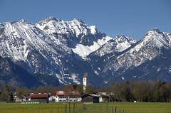 Waltenhofen (didibild) Tags: berge schnee alpen himmel landschaft ostallgäu bayern schwangau
