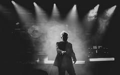 Howard Jones @ Manchester Ritz 24.11.17 (eskayfoto) Tags: panasonic lumix lx3 gig music concert live band stage tour manchester lightroom manchesterritz ritz theritz howard jones howardjones hojo monochrome mono bw blackandwhite p1640648editlr p1640648