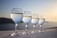 sunset glasses (chtimageur) Tags: sunset greece glasses bokeh evening light holidays fun enjoy santorini cyclades island beautifull canon canon6dmarkii sigma3514art