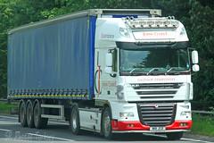 DAF XF John Clarke Glossop M18 JCD (SR Photos Torksey) Tags: transport truck haulage hgv lorry lgv logistics road commercial vehicle freight traffic daf xf john clarke glossop