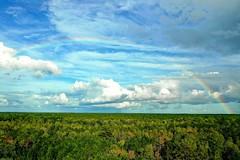 Before  Florence 🌈🌞☔ (jolynn_) Tags: mavic2 drone aerial rainbow sky clouds northcarolina hurricaneflorence dji