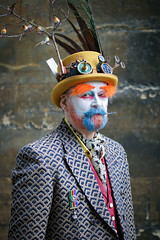 Portrait from Lincoln's Asylum X Steampunk Festival (Gordon.A) Tags: lincolnshire lincoln castle asylum x asylumx theasylum steam punk steampunk weekend convivial lincolnasylum lincolnasylumsteampunk lincolnasylumsteampunkfestival festival festiwal festivaali festivalen festspiele alternative culture subculture lifestyle creative costume hat goggles man face beard people event eventphotography amateur street photography day daylight outdoor outdoors outside town city urban pose posed posing naturallight portrait colour colours color colourful digital canon eos 750d sigma sigma50100mmf18dc