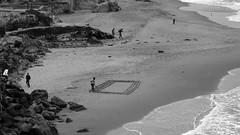 Land's End (Jay Pasion) Tags: jaypasion sony hx80 ps monochrome bw people beach water sanfrancisco california bayarea landsend
