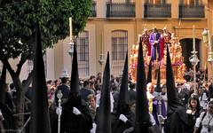 Spain: Málaga, Semana Santa procession (Henk Binnendijk) Tags: semanasanta procession processie andalucia andalucía andalusia spain españa parade hoods easter street malaga málaga