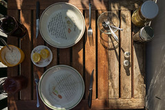 Late Homeoffice Lunch (maxst001) Tags: 2018yip 4bezirk austria balkon balkonien essen essenmitchristine europa hausoderwohnung oesterreich staedteundplaetze vienna wieden wien balcony flat food house