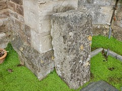Cut Mark: Clevedon, St Mary's Church (Dugswell2) Tags: cutmark clevedon stmaryschurch