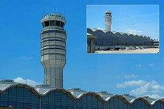 Tower and Tower (PDX Bailey) Tags: ronald reagan international airport dca washington dc district columbia aviation plane people east coast northern virginia arlington explore explored